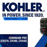 MOTOR KOHLER COMMAND PRO