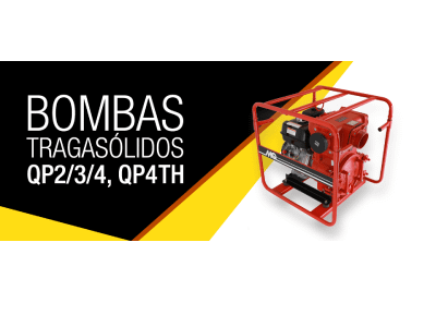 Bombas tragasólidos QP2/3/4, QP4TH