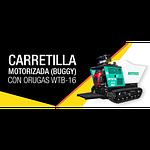 Carretilla Motorizada (Buggy) con Oruga WTB-16