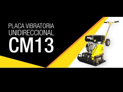 Placa Vibratoria Unidireccional CM13