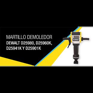Martillo demoledor DeWalt D25980, D25960K, D25941K y D25901K