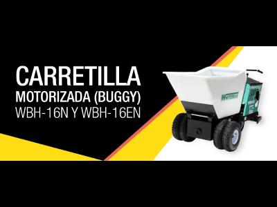 Curso de Carretilla Motorizada (Buggy) WBH-16N y WBH-16EN