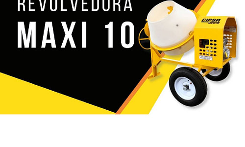 Revolvedora MAXI 10