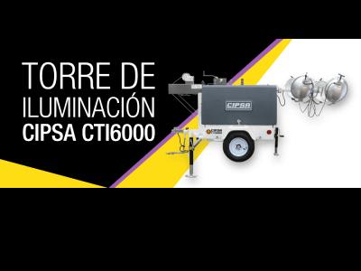 Torre de Iluminación CIPSA CTI6000