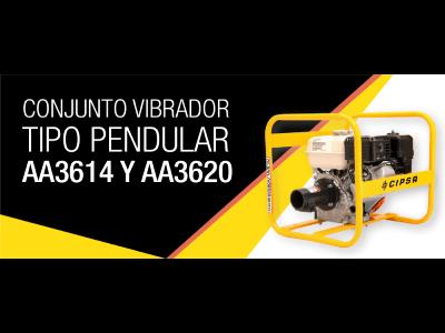 Conjunto vibrador tipo pendular AA3614 y AA3620